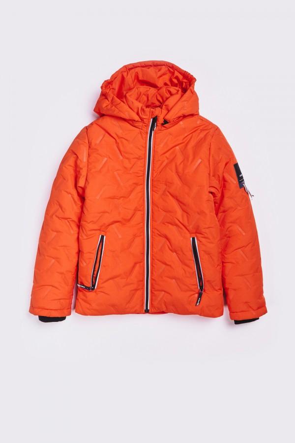 Zimowa kurtka z kapturem