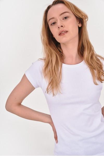 Koszulka z okrągłym dekoltem