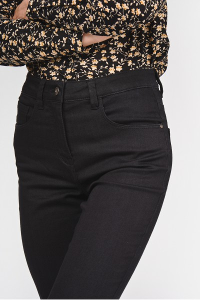 Spodnie z lekko podwyższonym stanem