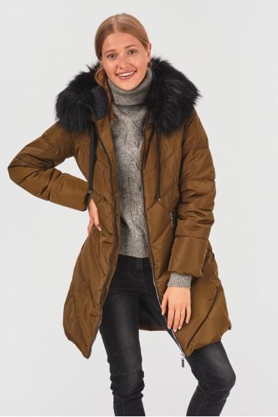 Zimowa kurtka z podszewką