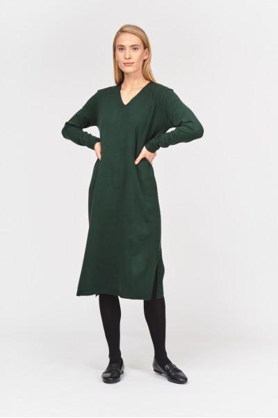 Dzianinowa sukienka midi