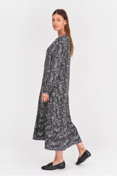 Luźna sukienka midi