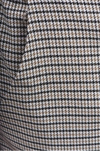 Spodnie chino w kratę
