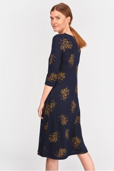 Dopasowana sukienka midi