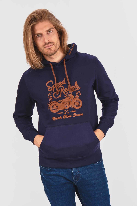 Bluza z motocyklowym motywem