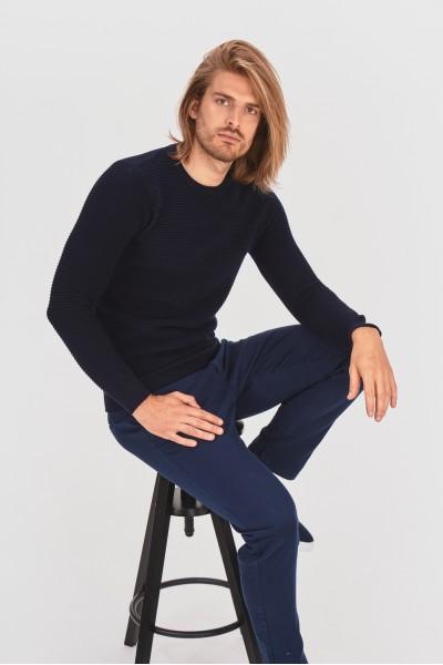 Prążkowany pulower