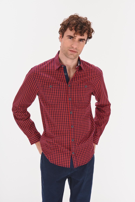 Koszula regular z dwoma kieszeniami