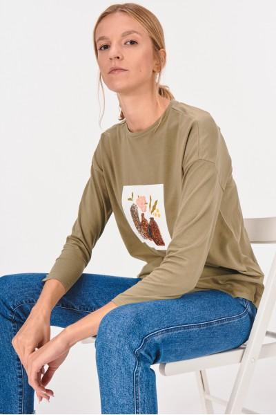 Koszulka z cekinami