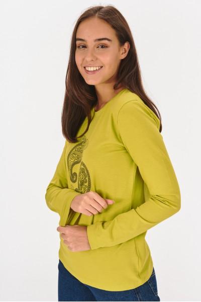 Koszulka ze wzorem paisley