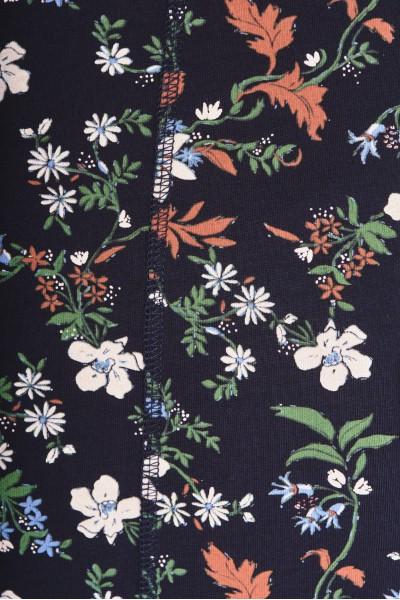 Koszulka z kwiaty