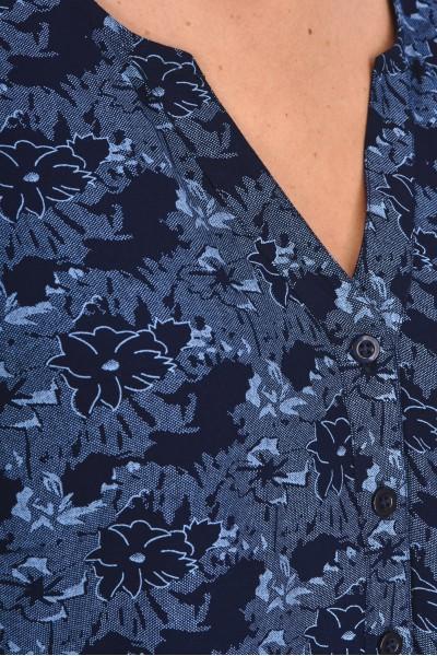 Wiskozowa bluzka we wzór