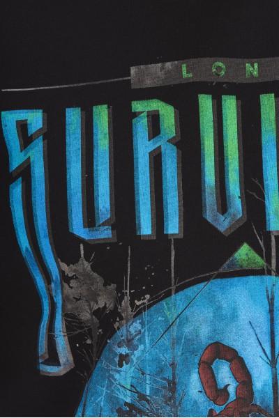 Koszulka z komiksowym nadrukiem