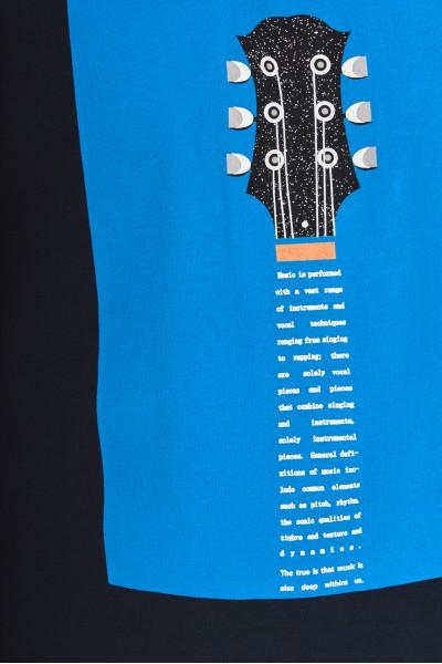 Koszulka z gitarowym nadrukiem