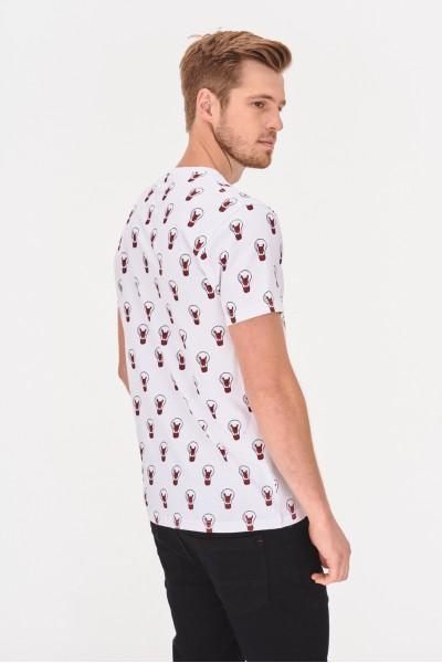 Koszulka w żarówki