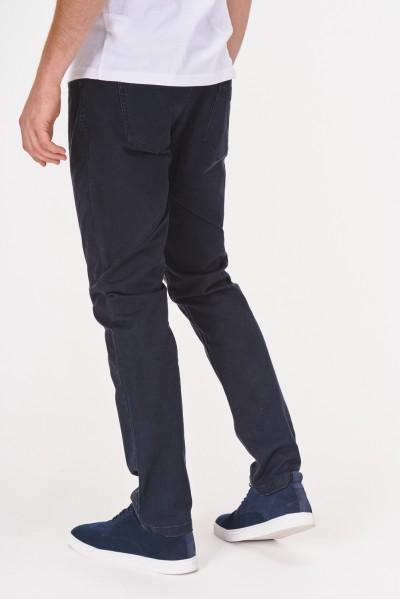 Spodnie z gładkiego materiału