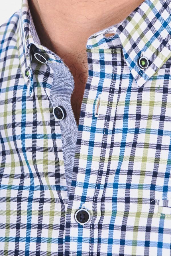 Koszula regular w drobną kratę