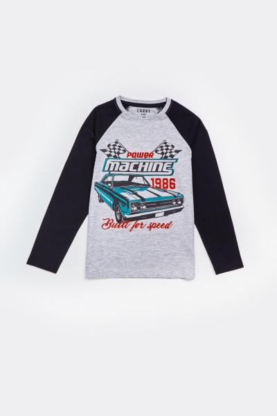 Koszulka z samochodem