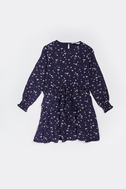 Sukienka z falbankami