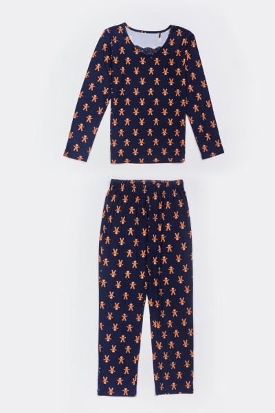 Piżama w pierniczki