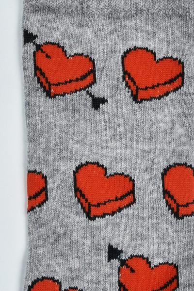 Bawełniane skarpety we wzór