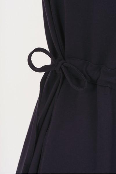 Gładka sukienka z bawełny