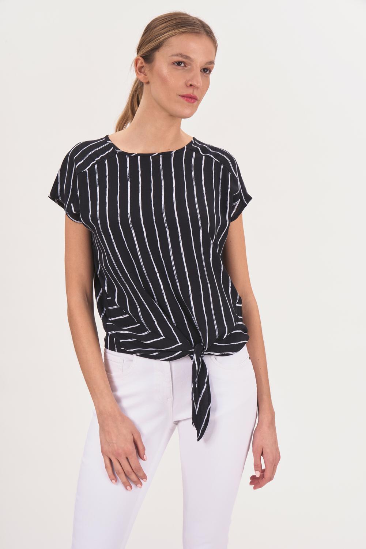 Wiskozowa bluzka w paski