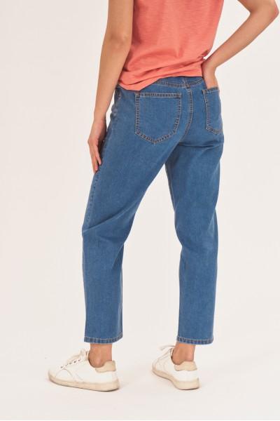 Jeansy medium waist