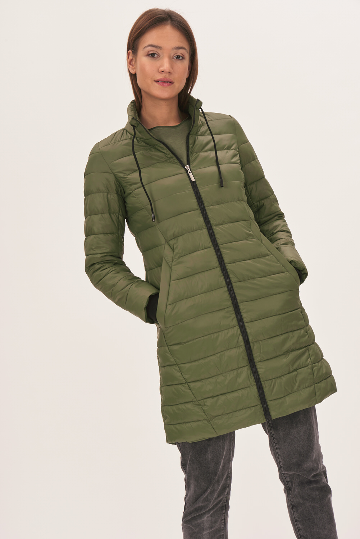 Pikowany płaszcz