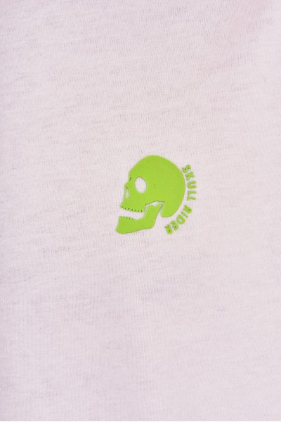 Koszulka z neonowymi akcentami