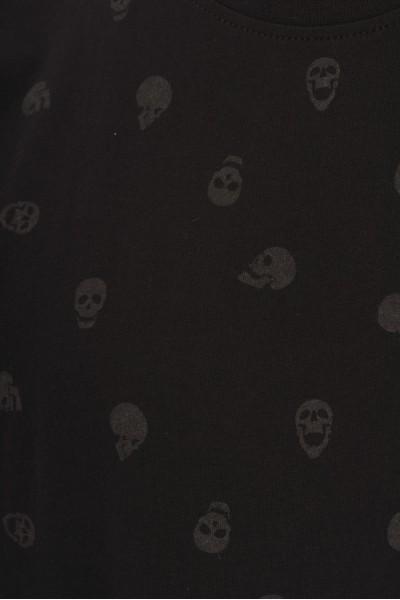 T-shirt w czaszki