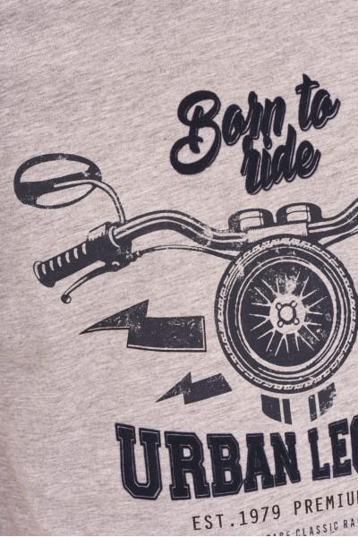 Koszulka z motocyklowym nadrukiem