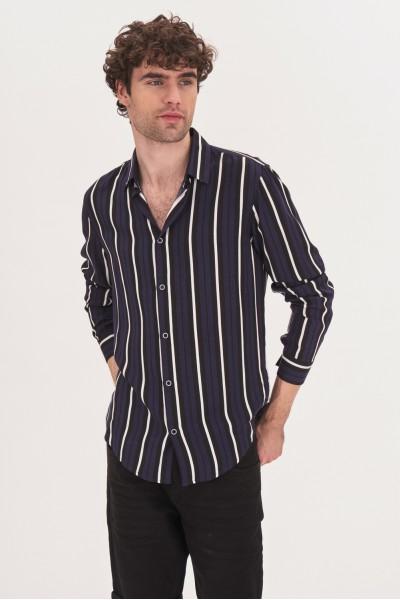 Wiskozowa koszula regular