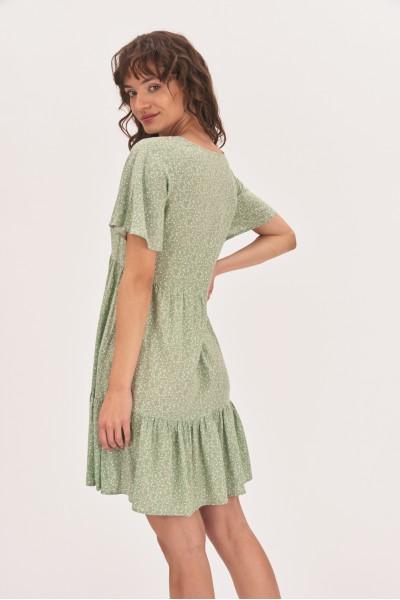 Zwiewna sukienka mini