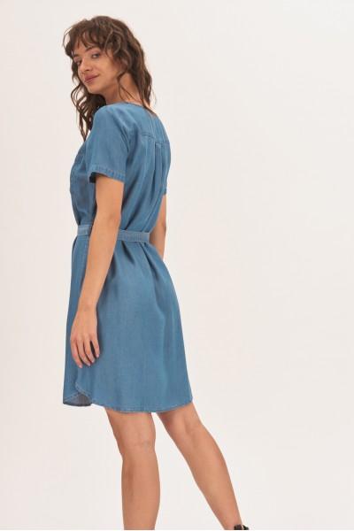 Sukienka z kieszonką