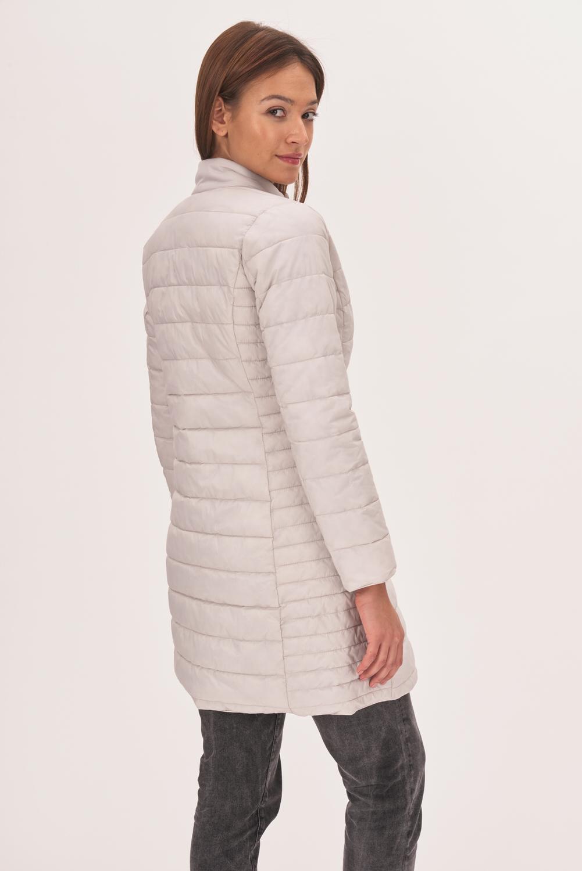 Pikowany płaszcz przejściowy