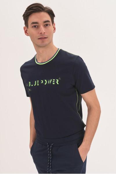 Koszulka z neonowymi elementami