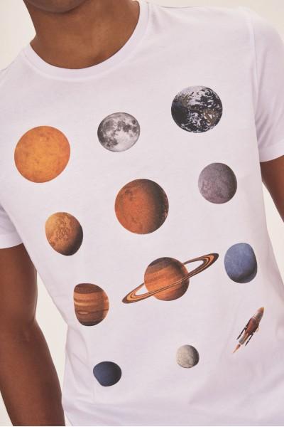 Koszulka z planetami Układu Słonecznego