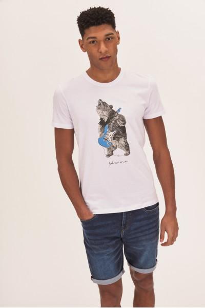 T-shirt z niedźwiedziem