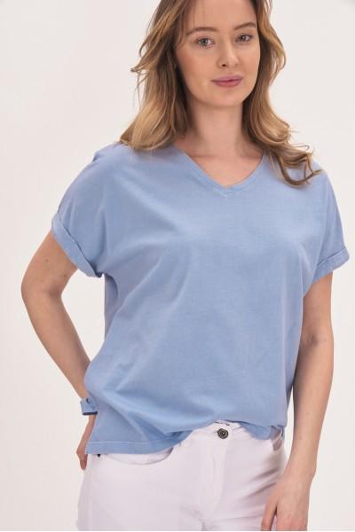 T-shirt z bawełny organicznej