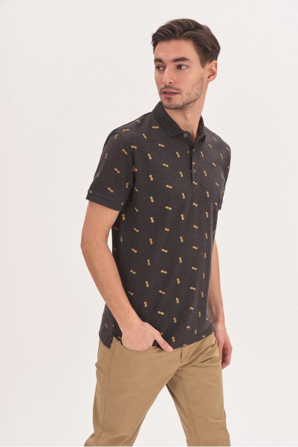 Koszulka polo w ananasy