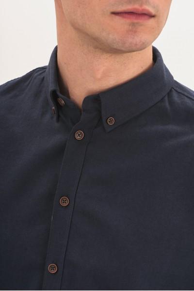 Koszula z dodatkiem lnu