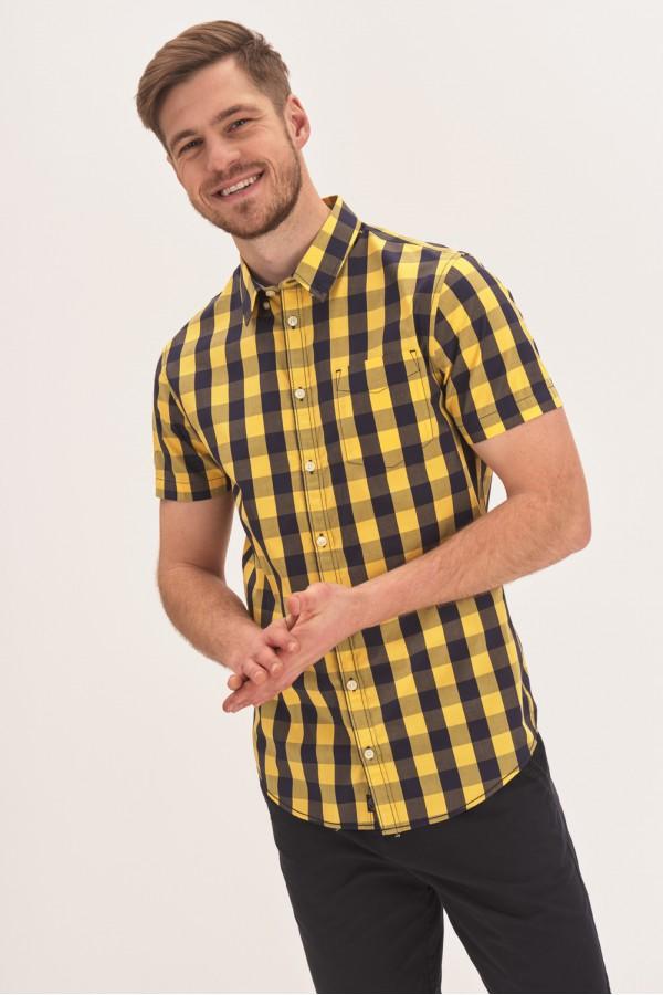 Koszula slim z krótkim rękawem