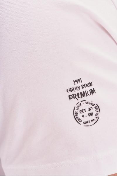 Bawełniany t-shirt z kieszonką