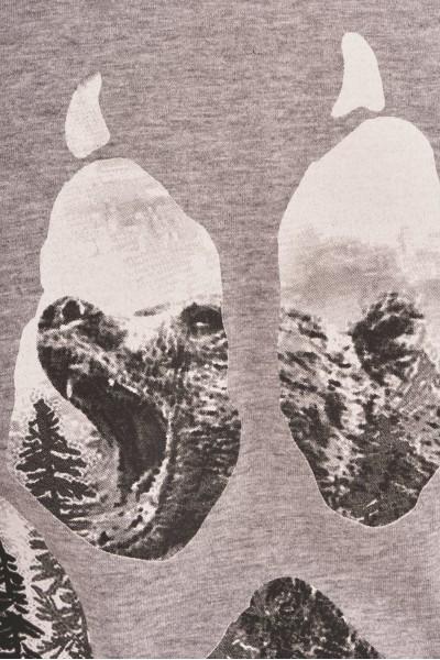 Koszulka z gładkiego materiału