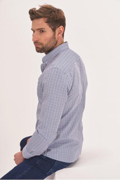 Koszula slim z długim rękawem