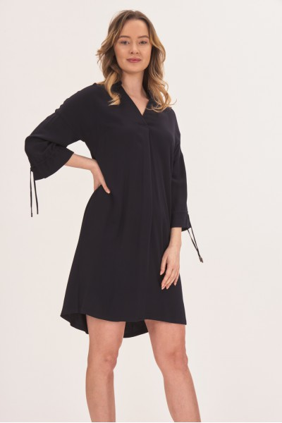 Elegancka sukienka z wiskozy