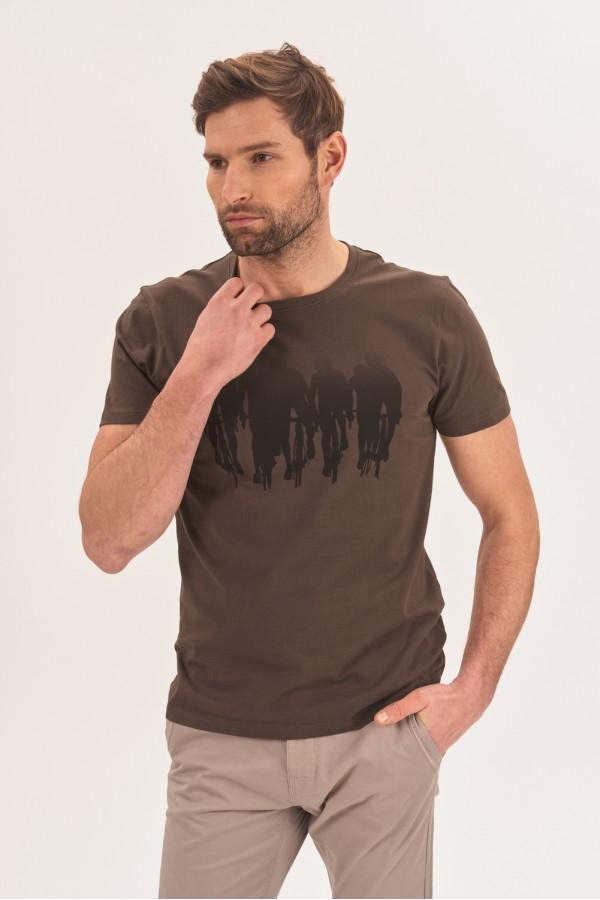 Koszulka z rowerowym nadrukiem