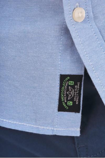 Bawełniana koszula regular w palmy