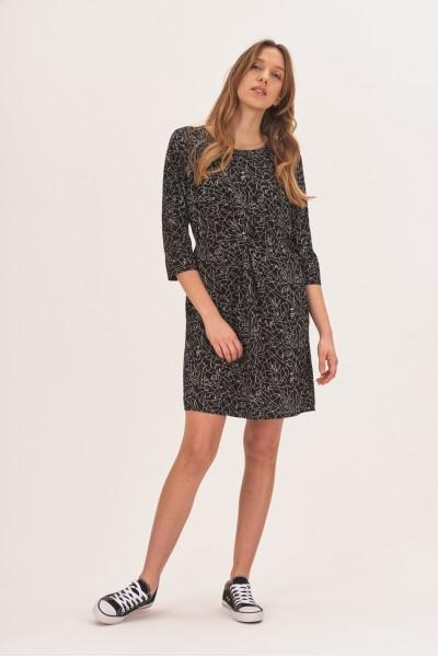 Sukienka z nieregularne wzory