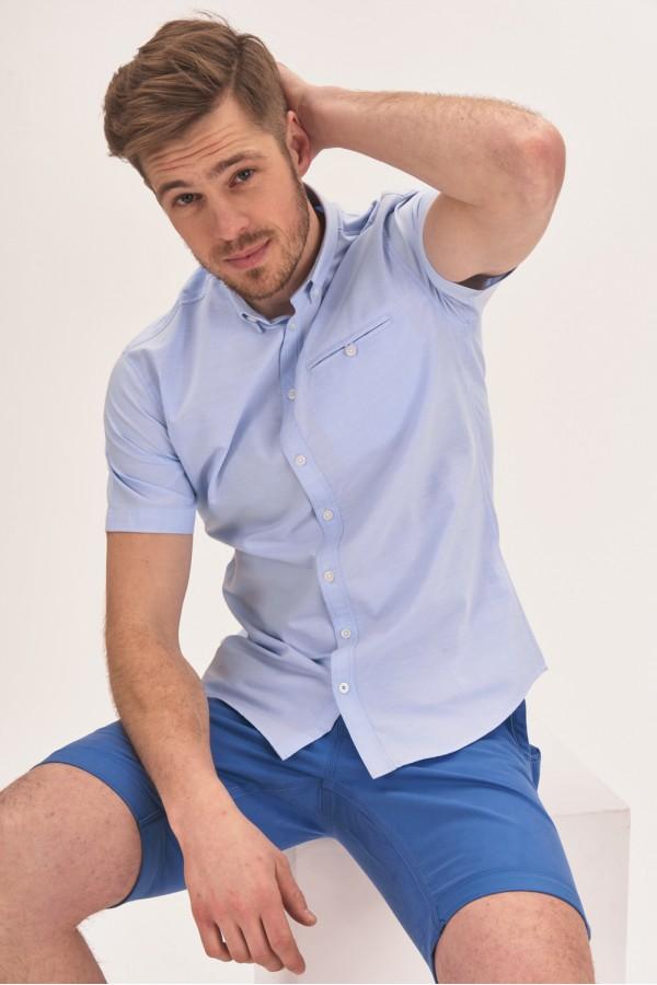 Bawełniana koszula easy iron